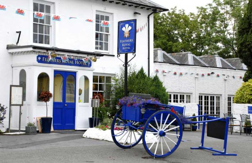 The Feathers Royal, Aberaeron serves fine wines, quality beers and traditional cuisine using fresh local ingredients
