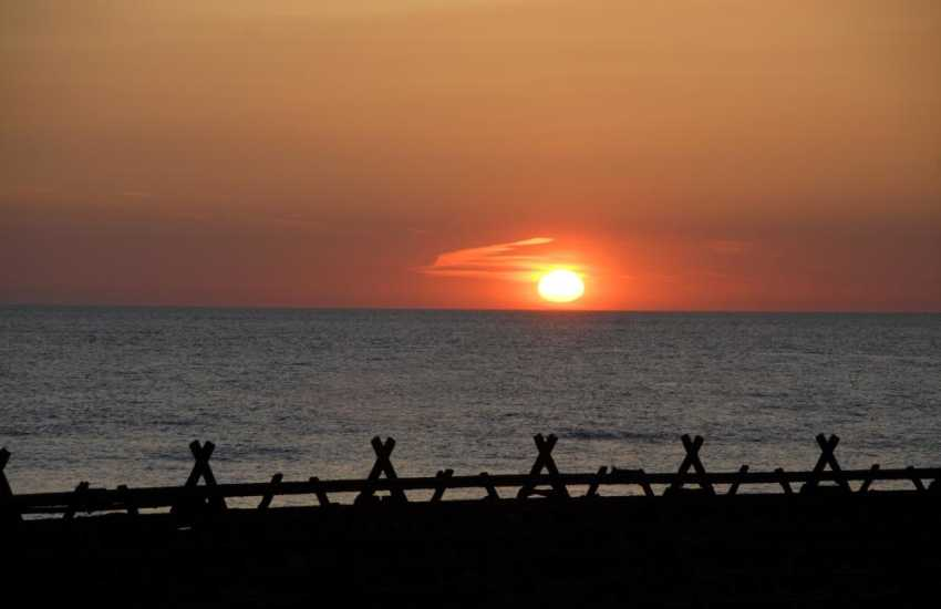 Enjoy stunning sunsets over Cardigan Bay and possibly the 'Green Flash' if you are lucky!
