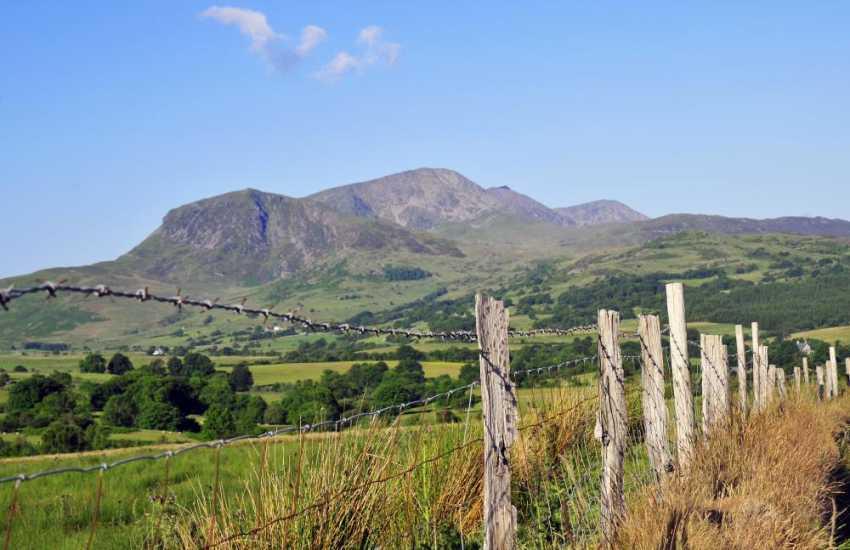 The incredible Cader Idris Mountain range