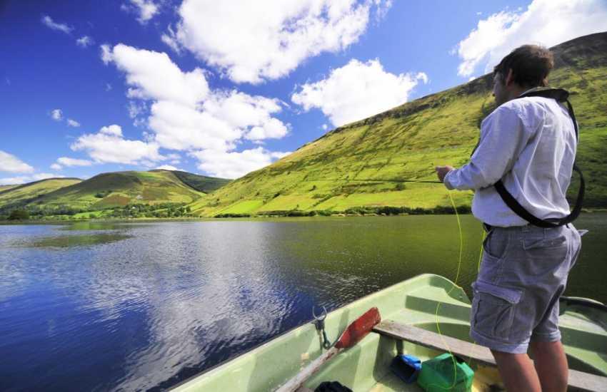 Enjoy a days fishing on Talyllyn lake