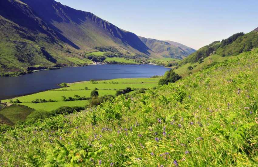 Tal y Llyn - Do take the steam train from Tywyn to Tal y Llyn Lake beneath the slopes of Cader Idris mountains
