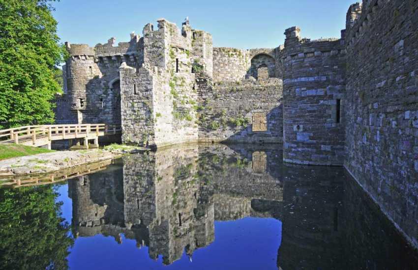 The fairytale Beaumaris Castle.