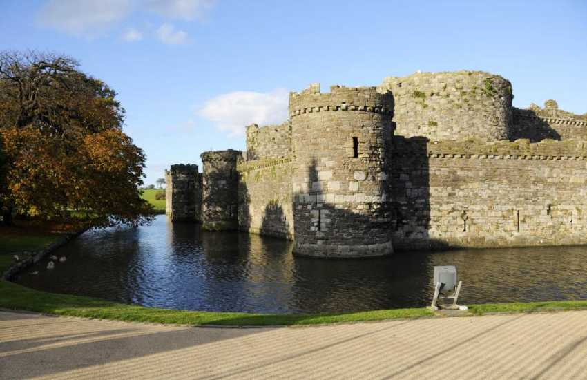 The picturesque Beaumaris Castle