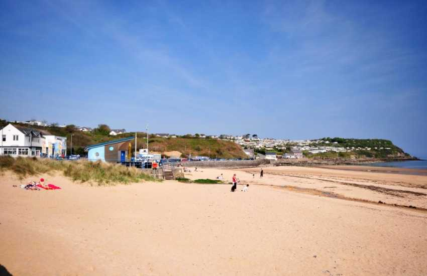 Benllech beach- miles of clean white sand and walking opportunities