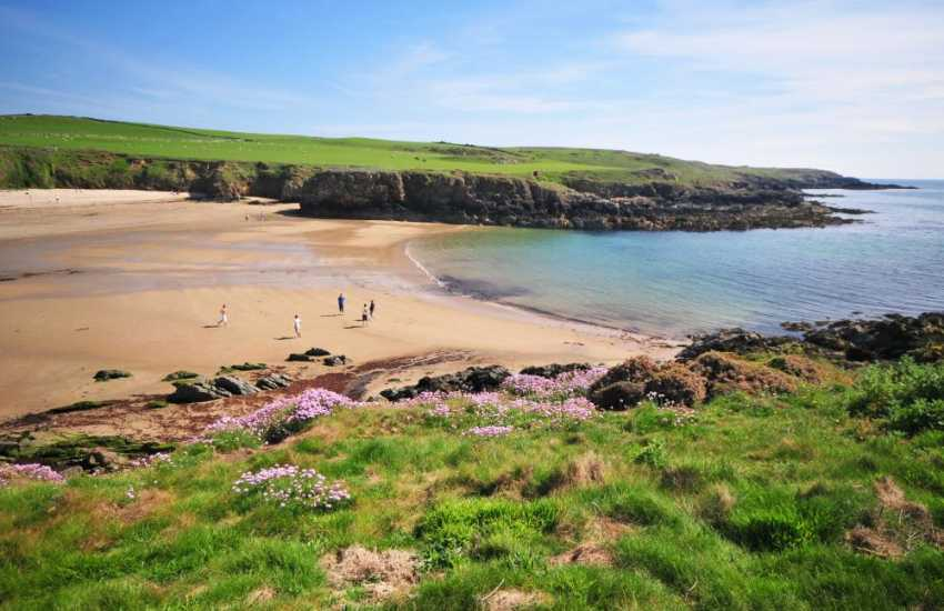 Walk from beautiful Cable Bay to Rhosneigr on the Anglesey Coastal Path
