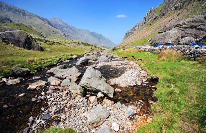 Llanberis pass and the mountains of Snowdonia