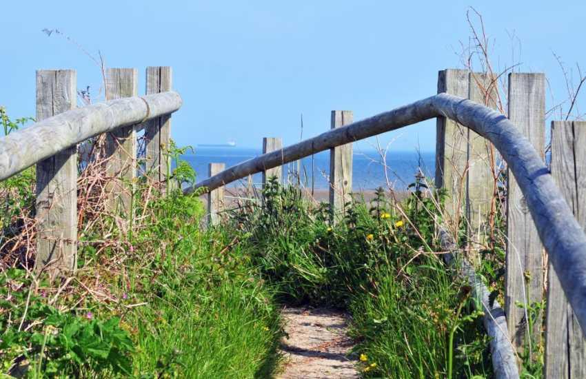 Llanddona beach, walk from Llanddona beach to red Wharf bay