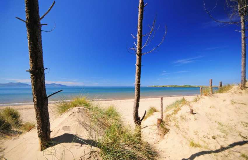 Llanddwyn beach, named as one of the top 10 British beaches