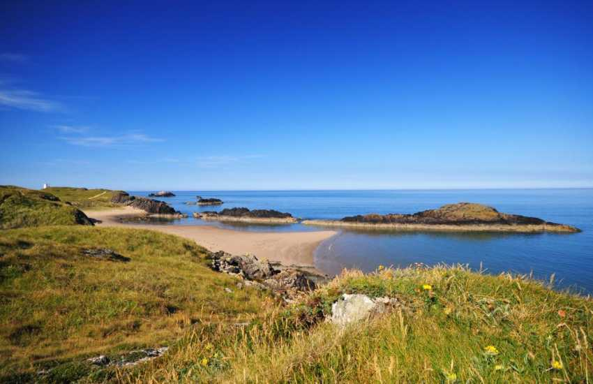 Llanddwyn Island, take a long walk along Newborough warren beach to the 'Welsh Island of love'