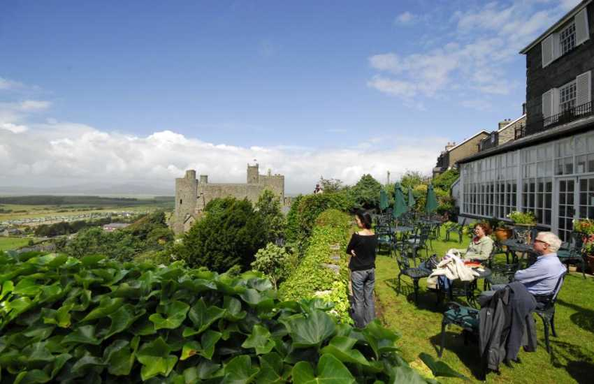 The Plas restaurant and tea rooms in Harlech