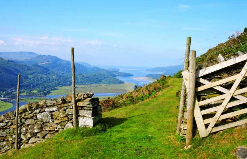 Precipice walk on the Mawddach estuary, a short drive away