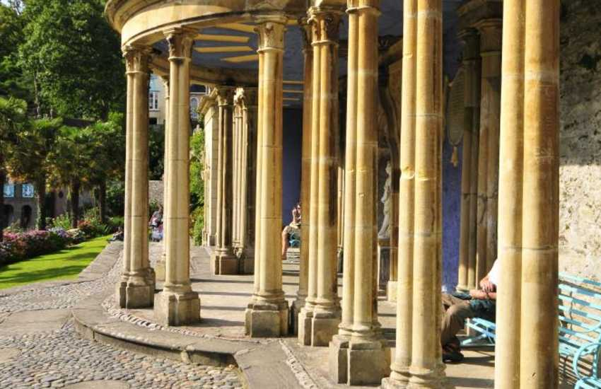 The fascinating and colourful village of Portmeirion