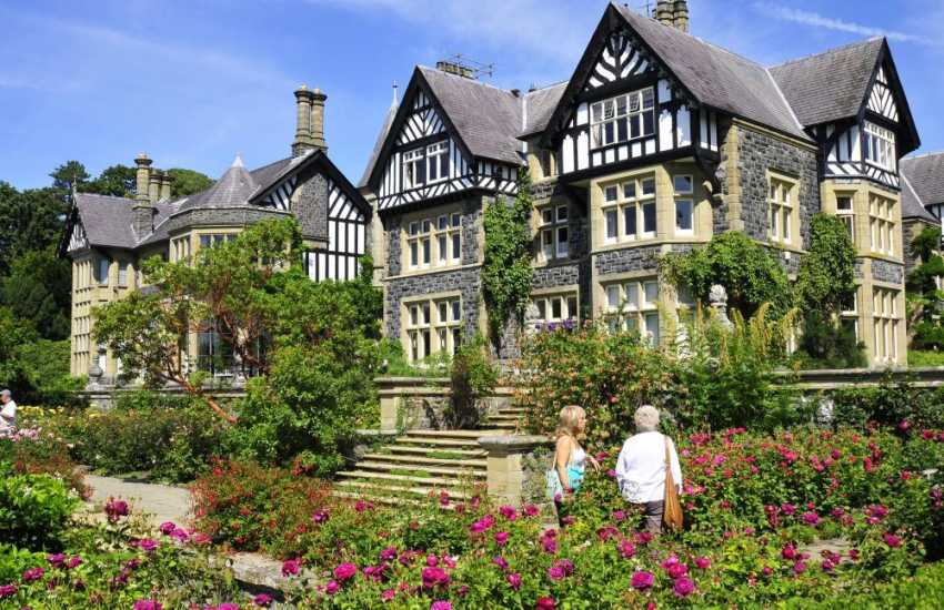 Bodnant Gardens, National Trust - one of the great gardens of Britain