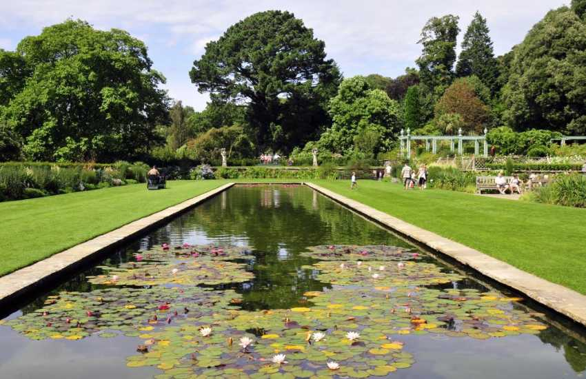 Bodnant Gardens are well worth a visit for a relaxing afternoon