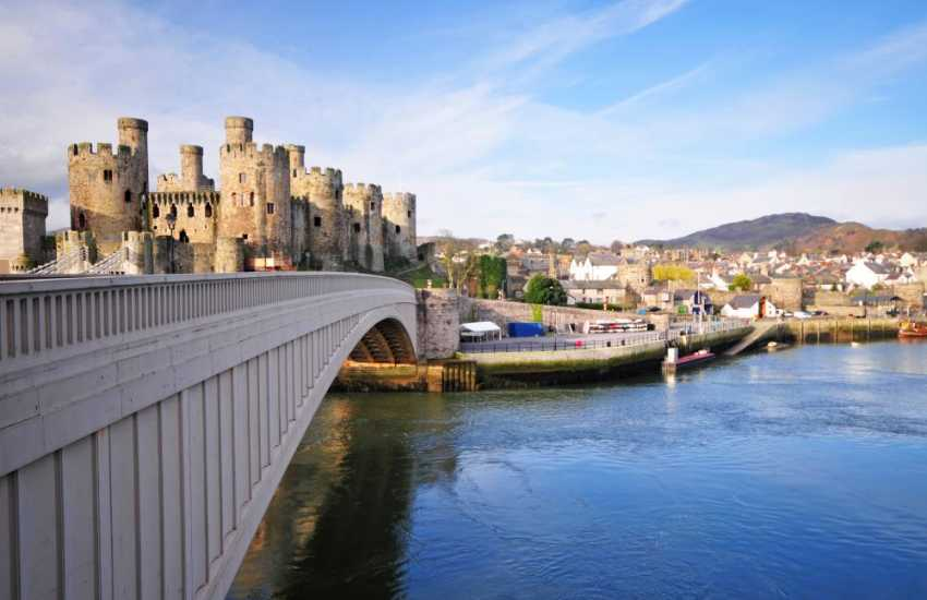 Conwy Castle in the care of the National Trust