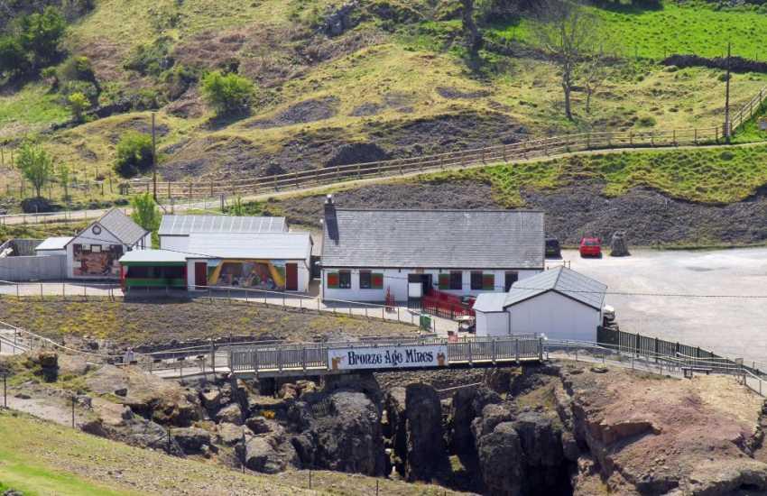 The bronze age mines in Llandudno