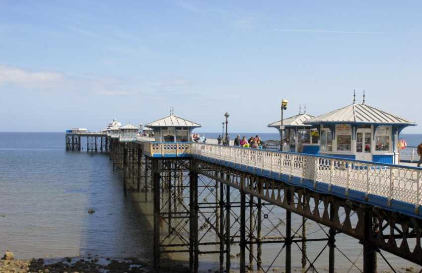 The Pier at Llandudno