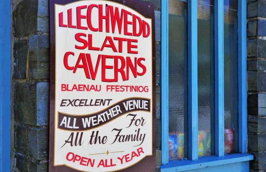 Llechwedd Slate Caverns - Marvel at the massive chambers and discover our Victorian miners used their dangerous tools!