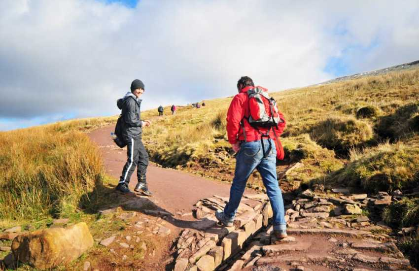 North Wales mountain walking, the opportunities are endless