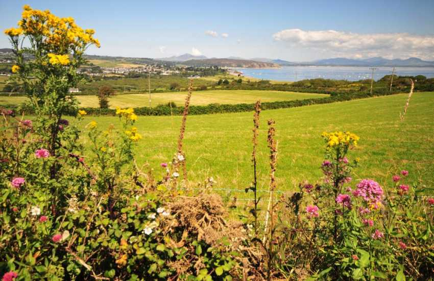 The beautiful countryside surrounding Abersoch