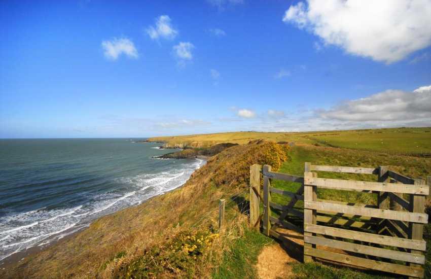 Walking on the Lleyn coastal path