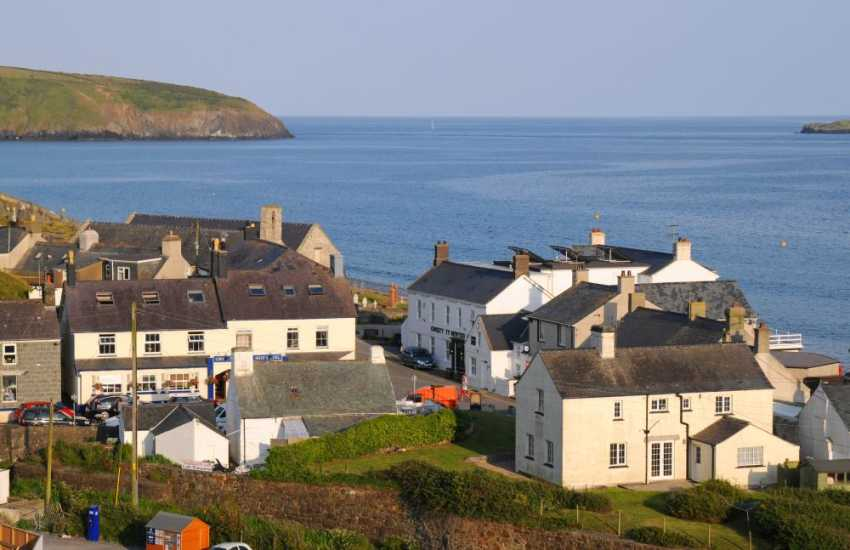 Aberdaron on the tip of the Lleyn, take a trip to Bardsey Island from this coastal village