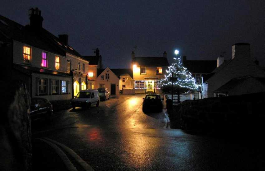 Aberdaron at Christmas