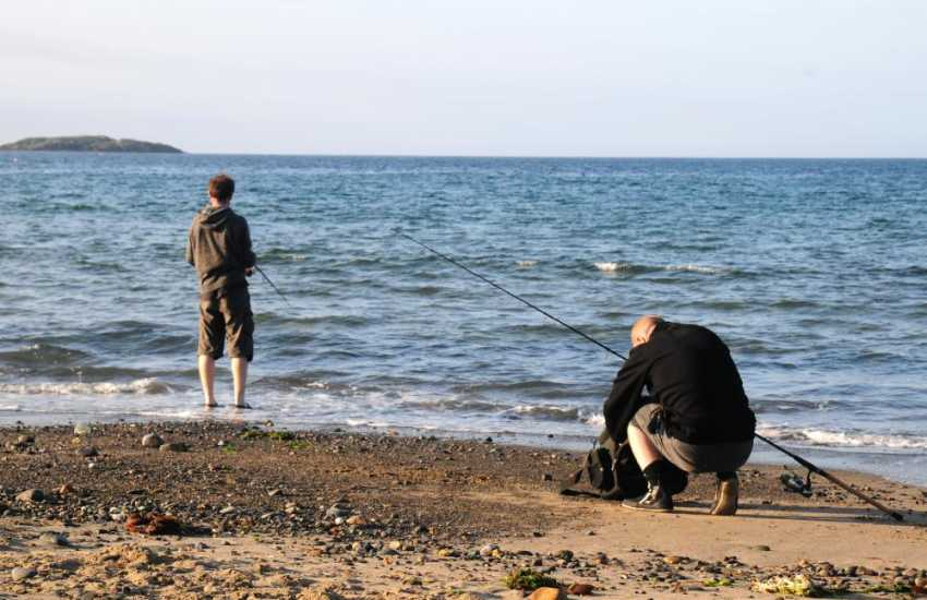 Sea fishing at Aberdaron