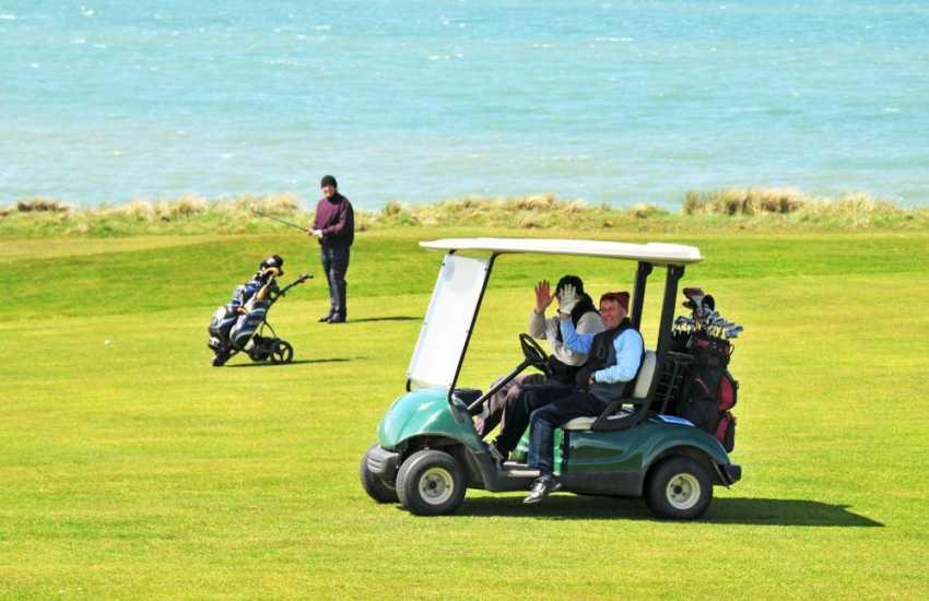 Nefyn Golf Course enjoys stunning coastal views