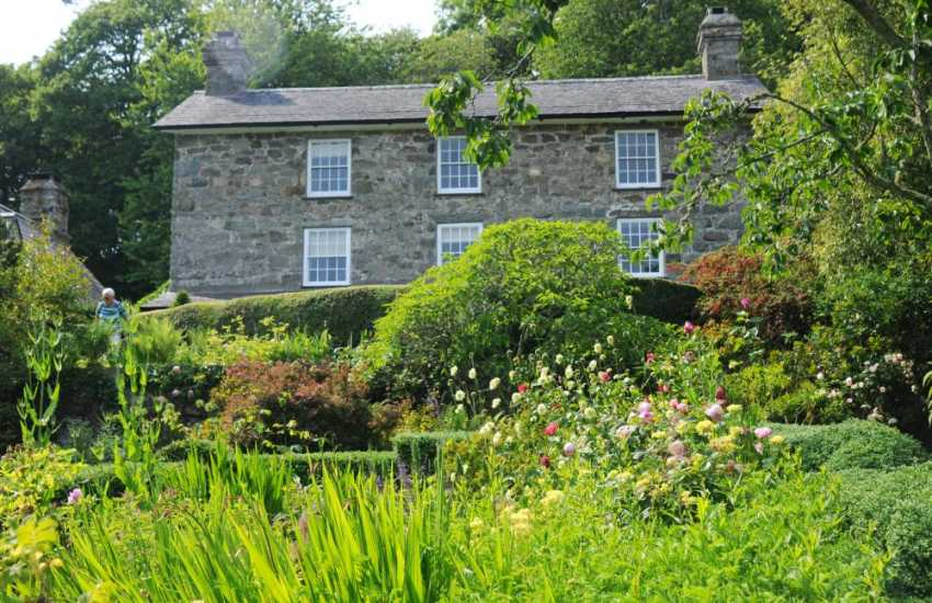 Plas Yn Rhiw, a beautiful National Trust property near Aberdaron