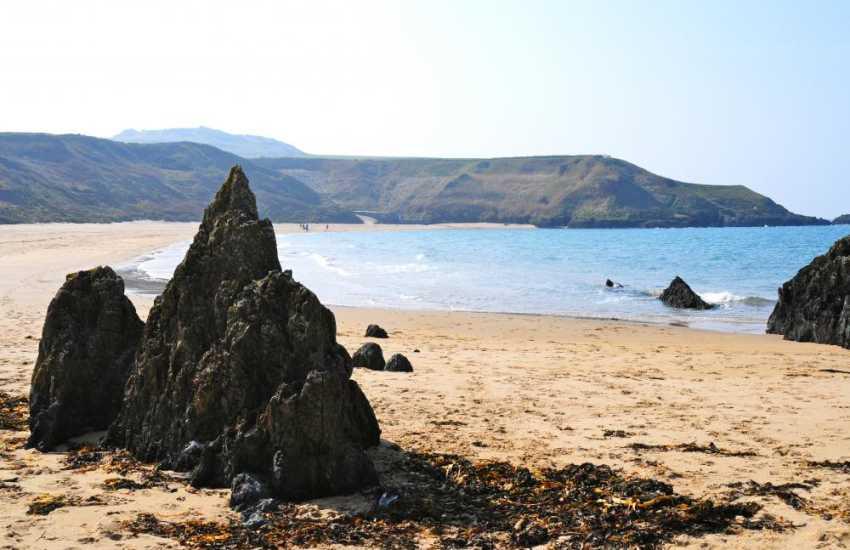The hidden beaches along the northern edge of the Lleyn Peninsula