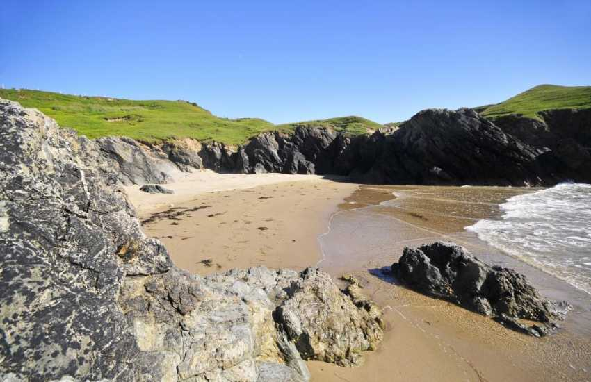 Lleyn beaches & hidden coves along the north Wales coastline