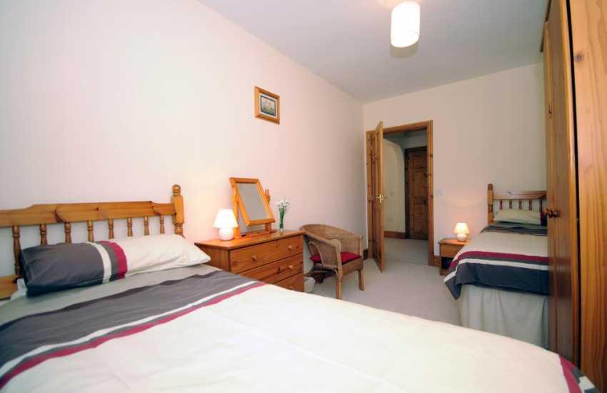 Holiday cottage Lleyn Peninsula - bedroom
