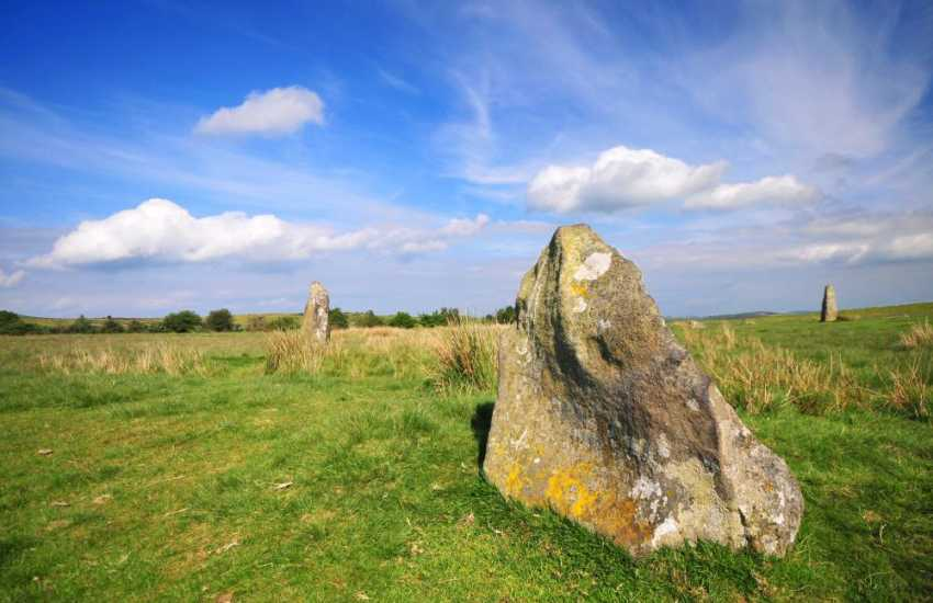 Mitchell's Fold Stone Circle - Follow the Stapeley & Rorrington trail signs and discover the stunning vistas in this area