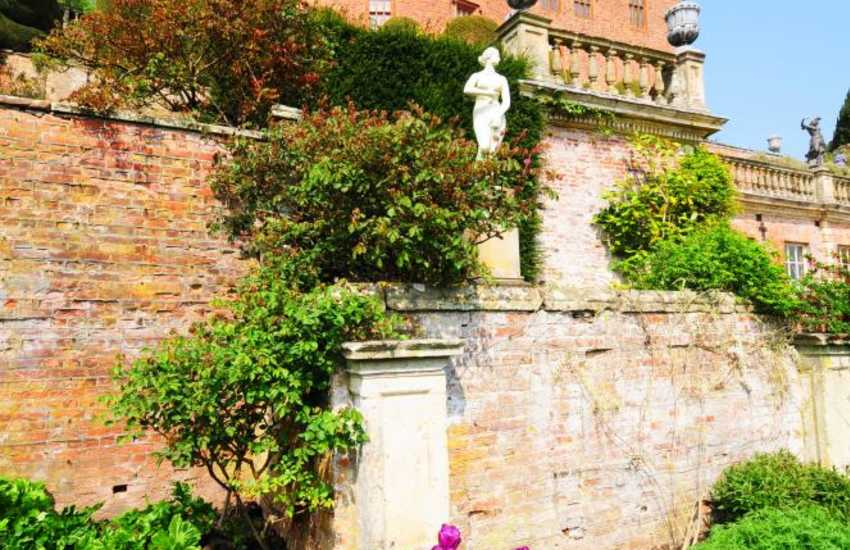 Powis Castle and gardens are a grand sight