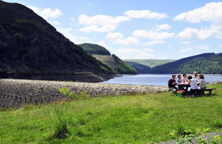 The Elan Valley, Lake Vyrnwy, Clewedog & Bala Lake are all worth a visit and offer great walking opportunities in the surrounding countryside