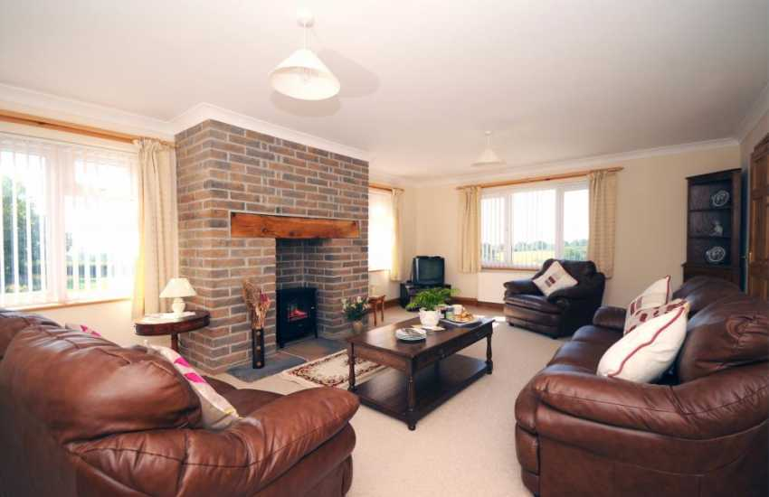 Holiday home North Wales - sitting room