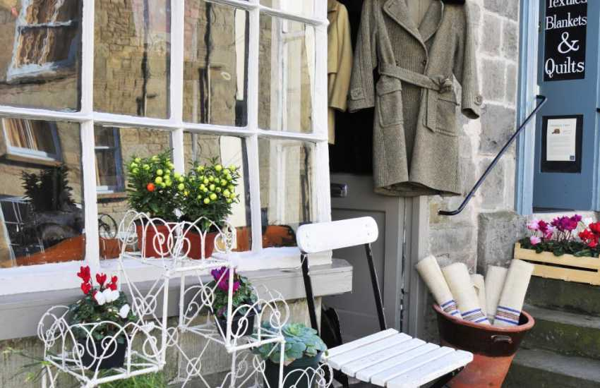 Hay on Wye has an abundance of individual shops to browse, no chains here!