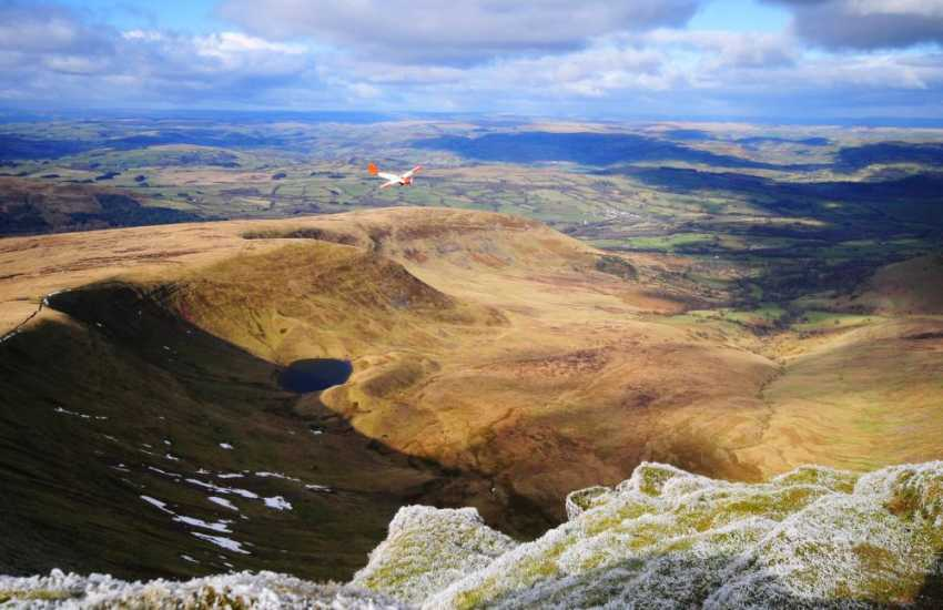 'Pen y Fan' in the Brecon Beacons - Excellent walking country and spectacular views from the summit