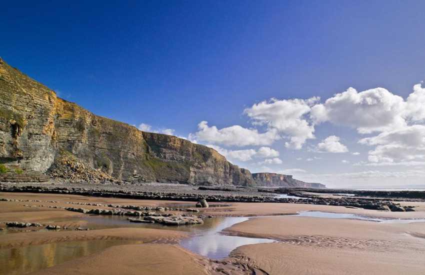 The stunning coastline of the Glamorgan Heritage Coast - breathtaking!