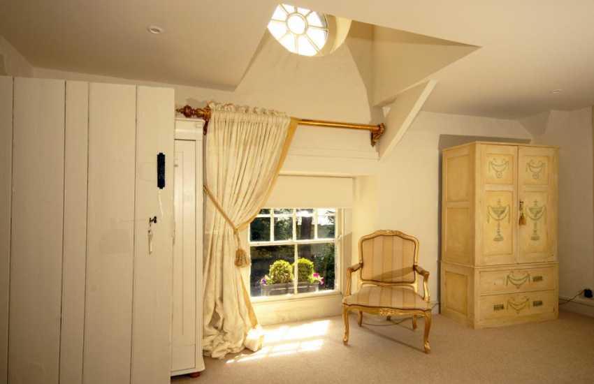 Glamorgan Heritage Coast luxury apartment - master bedroom