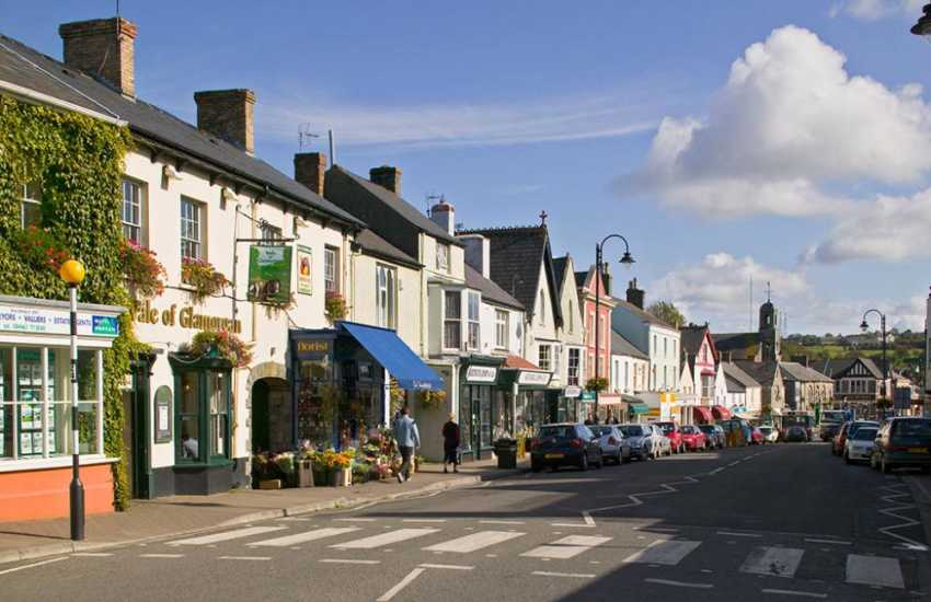 Cowbridge with its boutique shops is known as the 'Bond Street of Wales'.