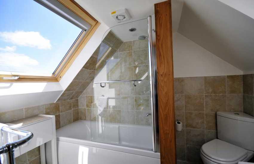 Double aspect en-suite bathroom on first floor to master bedroom