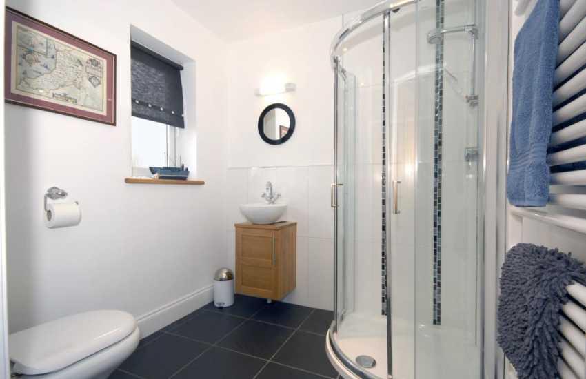 Cardigan Bay holiday house - ground floor shower room