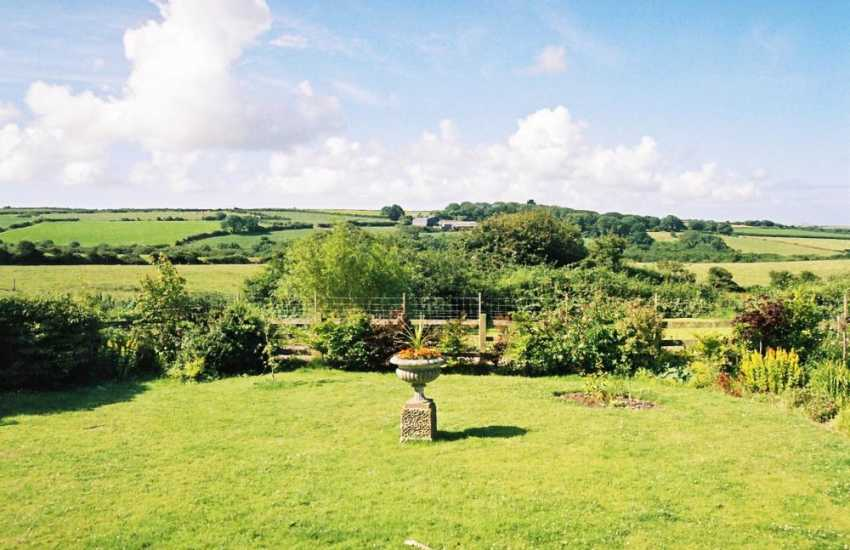 Enjoy views across the Pembrokeshire countryside