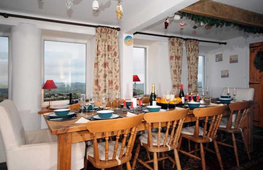 Luxury holiday house Aberdaron - kitchen