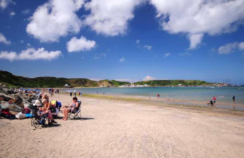 The beach at Morfa Nefyn