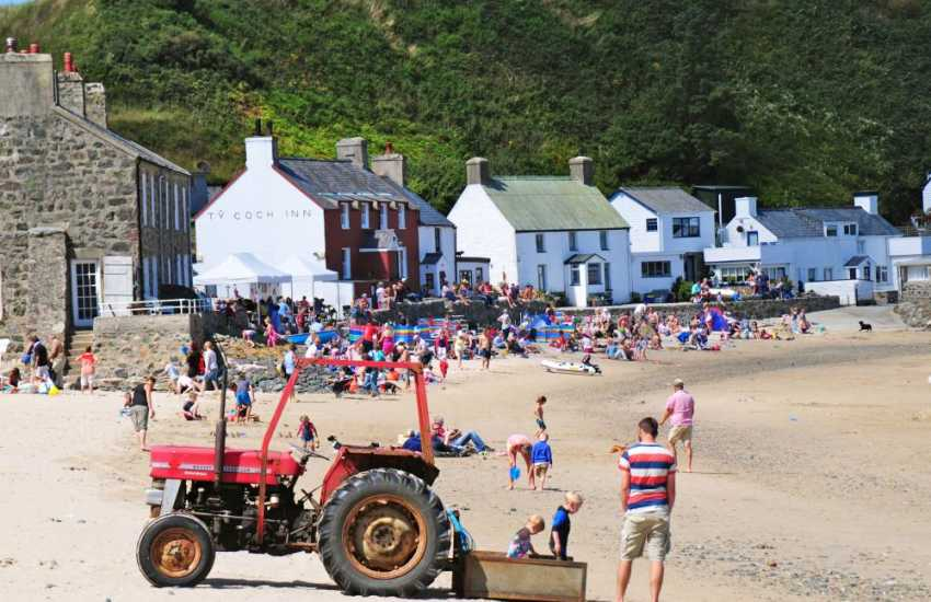 Ty Coch at Porthdinllaen, voted one of the top 10 beach bars in the world