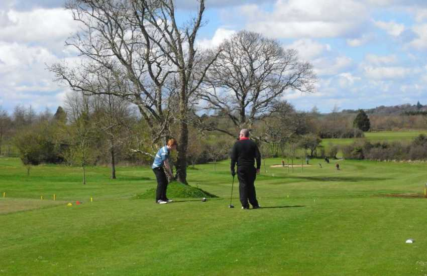 Trefloyne Golf Club is a parkland course set in beautiful mixed woodlands - the Terrace Bar and Orangery  is a truly relaxing spot to sit, drink, and dine at the end of the day!
