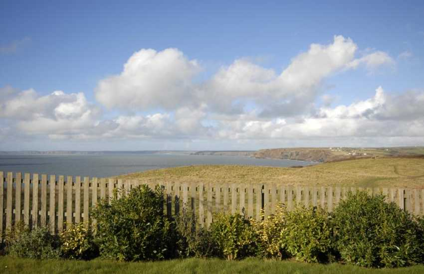 Wake up to fabulous sea views from the master bedroom